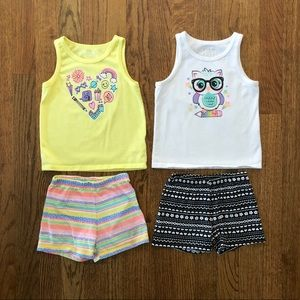 Garanimals Tank and Shorts Bundle